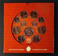 KMS CORSO set di monete Belgio 1850-2000 in confezione originale (blister)