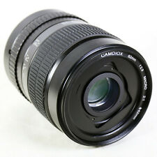 Camdiox 62mm 2:1 Ultra Macro Manual Focus Camera Lens for Canon EOS EF 80D 7D