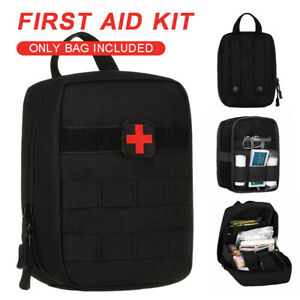Tactical Molle EMT Medical Pouch Utility First Aid Kit Bag Emergency Empty