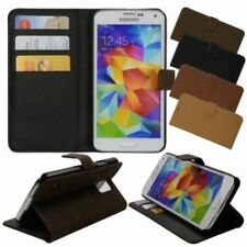 Fundas y carcasas de piel para teléfonos móviles y PDAs Samsung