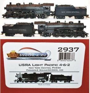 NYC 4550 4-6-2 USRA Light Pacific Broadway Limited 2937 HO MR5.12