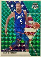 Kevin Durant 2019-20 Panini Mosaic USA Green Prizm MINT HOT INVEST🔥