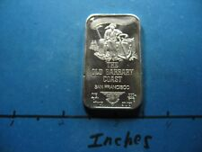 THE OLD BARBARY COAST CAT HOUSE SAN FRANCISCO 1973 USSC 999 SILVER BAR VERY RARE