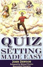 Very Good, Quiz Setting Made Easy, Dawson, John, Book