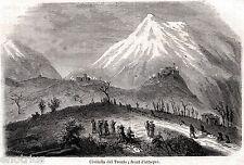 Civitella del Tronto: Fronte d'Attacco Piemontese. Abruzzo. Regno di Napoli.1861