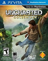 Uncharted: Golden Abyss - PlayStation PS Vita 2012 PSV Game In Mint Condition...
