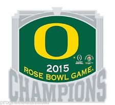 2014 2015 ROSE BOWL CHAMPIONSHIP NCAA OREGON DUCKS CHAMPIONS GAME COLLECTOR PIN