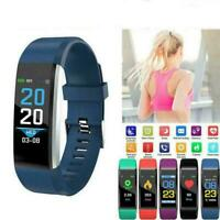 Fitness Smart Watch Heart Rate Monitor Tracker Women Men For Android iOS M1Q7