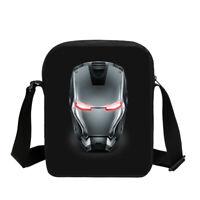Iron Man 3D Print Shoulder Bags Outdoor Crossbody Bag For Mens Messenger Bag