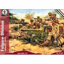 Waterloo 1815 AP002 Folgore Division Infantry 1942 1/72 Plastic scale model kit