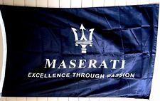 MASERATI Cars 3x5 Flag Banner Ghibli Quattroporte