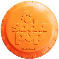 Sodapup Bottle Top Flyers Durable Natural Frisbee Retrieving Toy - Dog Puppy