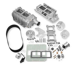 Weiand- 7583 6-71 Street Supercharger Kit for Big Block Chevy (Standard Deck) 1/