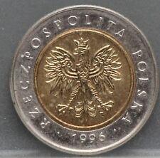 Polen - Poland 5 zlote zloty zlotych 1996 - Y# 284 - nice!