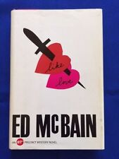 LIKE LOVE - FIRST EDITION SIGNED BY ED MCBAIN
