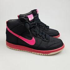 Girl's Boy's NIKE 'Dunk Hi' Sz 6 US Shoes Black Youth VGCon   3+ Extra 10% Off