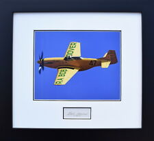 "R.A. ""Bob"" Hoover in his Reno Air Race P-51 ""Ole Yeller""- Signed by Bob Hoover"