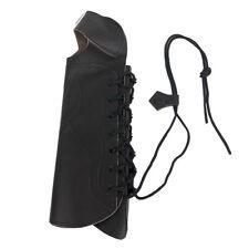 Garde de bras de tir à l'arc noir protègent l'équipement avec des