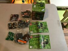 Lego Minecraft - Set 21102 - New and bags Sealed