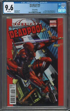 Deadpool #45 CGC 9.6 White Pages 50th Anniversary Variant 1st Full Evil Deadpool