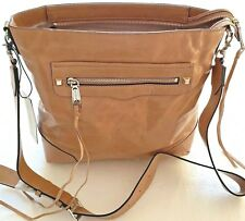 NWT $245 REBECCA MINKOFF GENUINE LEATHER CAMMEO REGAN SLIM BUCKET SHOULDER HOBO
