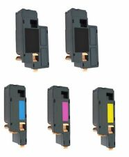5 Toner XXL for Dell 1250 C 1350 Cnw 1355 Cn C1760 NW C1765 Nf C1765 Nfw
