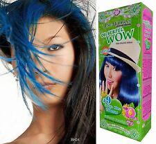 Creme-Colorationen in Blau Haar
