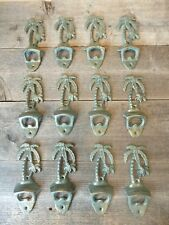 12 Cast Iron PALM TREE Beer Soda Bottle Openers Opener Beach Nautical Wholesale