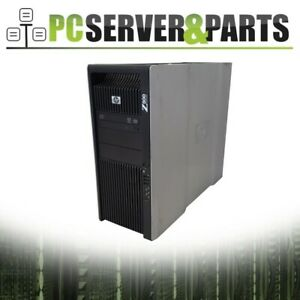 HP Z800 Workstation Barebone 1110W PSU 4x Trays 2x HS No CPU No RAM No HDD No OS