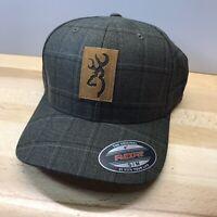 Brown Browning Colstrip FF Cap Small//Medium Flexfit Hat NWT