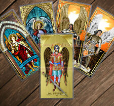 Saint Michael Archangel laminated Holy Prayer cards. Stained Glass, Icon