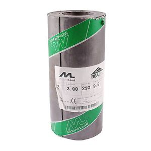 """210mm 8"""" inch Code 3 Lead Flashing Roll Roof Roofing Repair Midland Lead"""