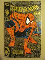 Spider-Man #1 Marvel 1990 Series 2nd Print Gold Variant Todd McFarlane 9.4 NM