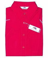 Fruit of the Loom Blusa Corto XS Rojo Easy Care Lady-Fit Popelín Camiseta