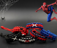 US!Into the Spider-Verse Unisex Adjustable Hand-Knitted Bracelet Gift Collection