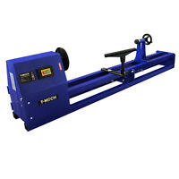 Torno para madera 400W Ø 350mm Máquina de torneado Herramienta 1000mm