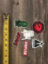 6 Capita Snowboard stickers
