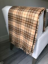 Ethan Allen 100% Lambswool Throw