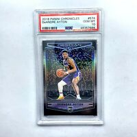 2018-19 Deandre Ayton Panini Chronicles Obsidian Preview Rookie Card RC PSA 10