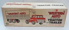 Marx Western Auto Delivery Truck Pressed Steel MISB #3639 Rare