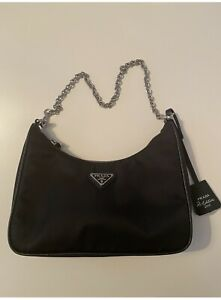 Prada Re-Edition 2005 Nylon Bag (Black) - BRAND NEW, AUTHENTIC & UNUSED!