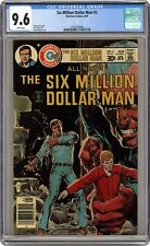 Six Million Dollar Man #2 CGC 9.6 1976 comic 3705570006