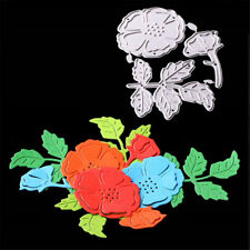 flower and leaf  Metal Cutting Dies DIY Scrapbooking Paper Cards CraftsAG