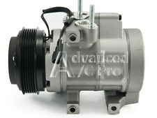 AC Compressor Fits: 2006 2007 2008 2009 2010 Ford Explorer V8 4.6L With Rear AC