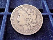 1885-O MORGAN SILVER DOLLAR IN VERY GOOD CONDITION  B-3-18