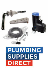 """* Toilet Close Coupled Fittings Pack for Cistern Lever / 9"""" Syphon Full Kit"""