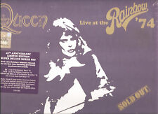 "QUEEN ""Live At The Rainbow '74"" 40th Anniversary Super Deluxe Edition sealed"