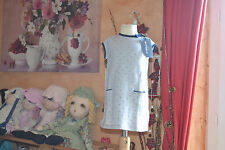 robe cyrillus neuve 12 mois grise poids marine noeud marine sur le cote poche