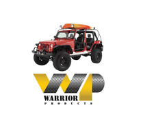 Warrior Safari Water Craft Rack System 07-17 Jeep Wrangler JK & Unlimited JKU