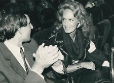 DALIDA 1980s  VINTAGE PHOTO ORIGINAL #6